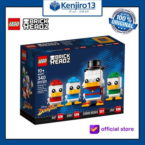 Foto Produk Lego Brickheadz 40477 Scrooge McDuck, Huey, Dewey & Louie dari Kenjiro13