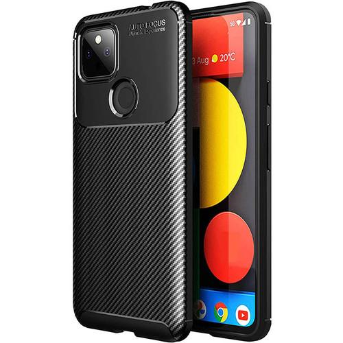 Foto Produk Carbon II TPU Case Google Pixel 5a 5G - Casing Black Soft Armor Ori dari Logay Accessories