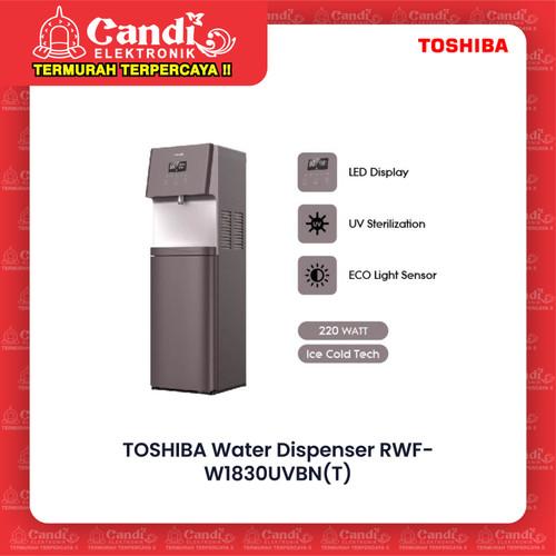 Foto Produk TOSHIBA WATER DISPENSER RWF-W1830UVBN / RWF W1830U VBN / W1830UVBN dari Candi Elektronik Solo
