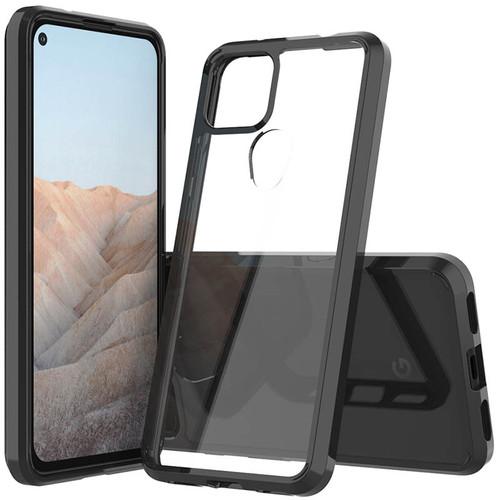 Foto Produk Vision Armor Case Google Pixel 5a 5G - Acrylic Clear Casing PC TPU Fit dari Logay Accessories