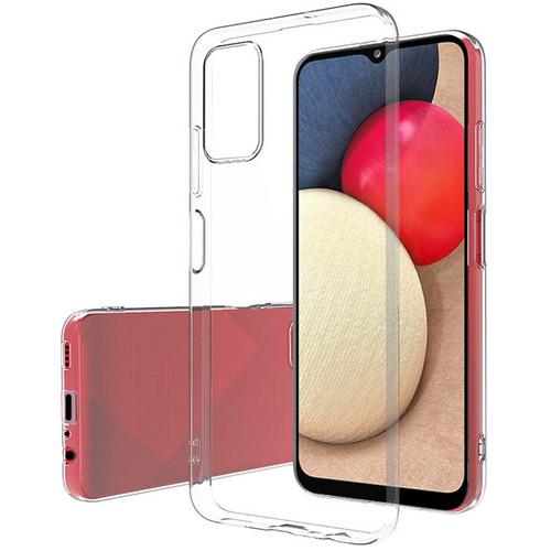 Foto Produk Slim TPU Case Samsung Galaxy A03s - Full Clear Soft Bening Cover Fit dari Logay Accessories