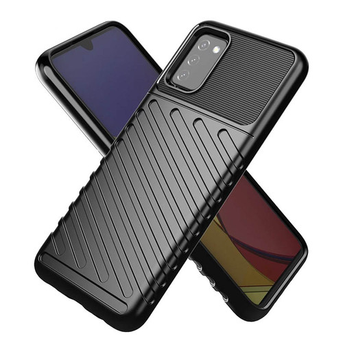 Foto Produk Armor Line TPU Case Samsung Galaxy A03s - Casing Black Soft Cover Fit dari Logay Accessories