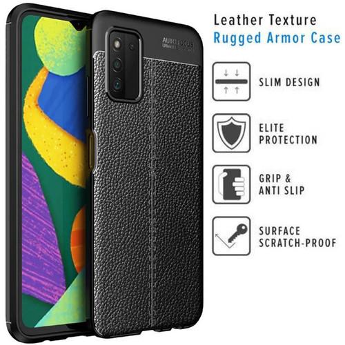 Foto Produk Armor Texture TPU Case Samsung Galaxy A03s - Original Auto Focus Cover dari Logay Accessories