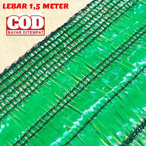 Foto Produk Jaring paranet uv atap hijau 85% UV 3% Bahan Virgin Lebar 1,5 Meter dari CV BAMBANG MAS OFFICIAL