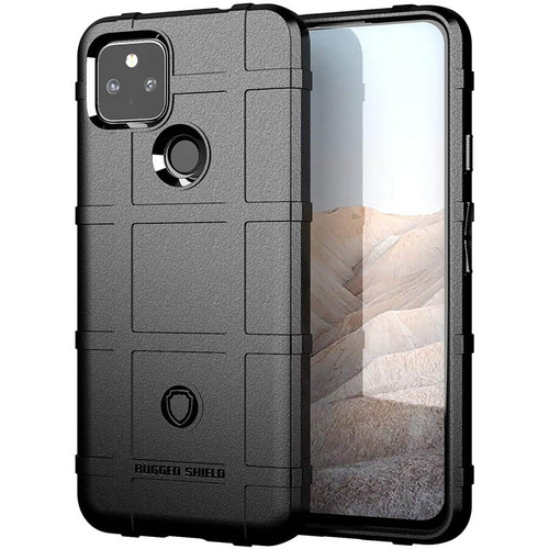 Foto Produk Armor Shield TPU Case Google Pixel 5a 5G - Casing Black Soft Cover dari Logay Accessories