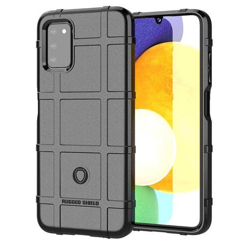 Foto Produk Armor Shield TPU Case Samsung Galaxy A03s - Casing Black Soft Cover dari Logay Accessories