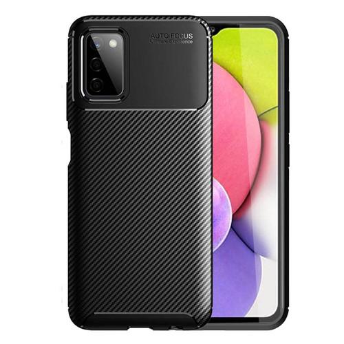 Foto Produk Carbon II TPU Case Samsung Galaxy A03s - Casing Black Soft Armor Ori dari Logay Accessories