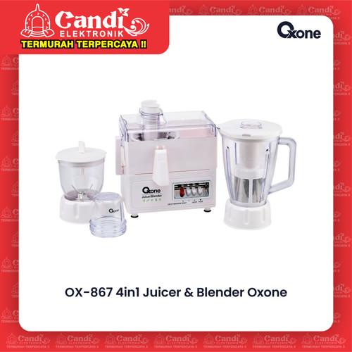Foto Produk OXONE BLENDER JUICER OX-867 / OX 867 / OX867 4IN1 dari Candi Elektronik Solo