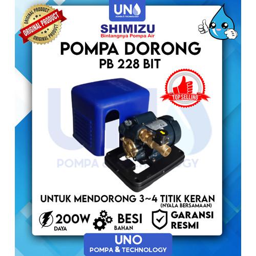 Foto Produk Pompa Dorong Otomatis / Auto Shimizu PB 228 BIT - tanpa bubble dari Uno Pompa & Technology
