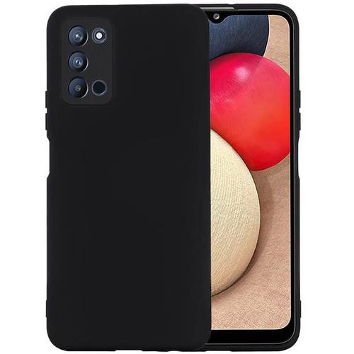 Foto Produk Solid TPU Case Samsung Galaxy A03s - Camera Black Soft Cover Casing dari Logay Accessories