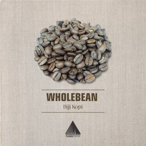 Foto Produk Premium-Roasted Bean 250gr - Washed Arabica - Flores Manggarai-Kartika - Biji Kopi. dari Tuang Coffee