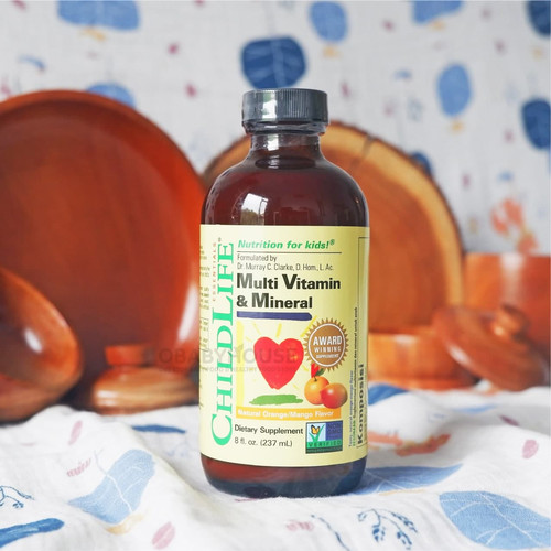 Foto Produk Childlife Multi Vitamin & Mineral Natural Orange Mango Flavor 237 ml dari obabyhouse