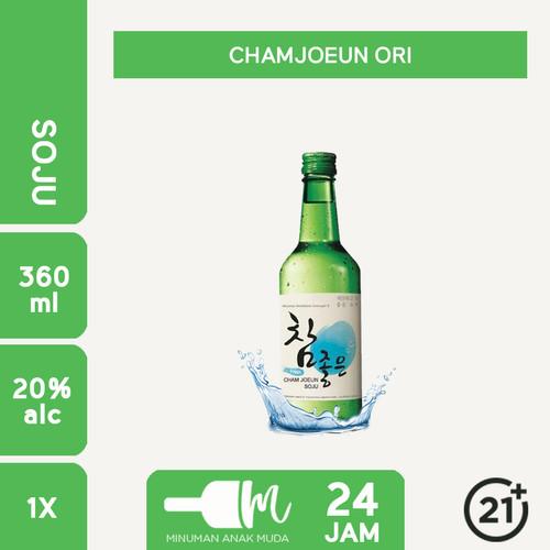 Foto Produk Soju Cham Joeun Chamjouen ( Original / Lychee / Lime ) - ORI dari Minuman Anak Muda 24 Jam