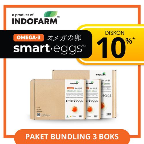 Foto Produk Telur Omega 3 Organik - INDOFARM Smart Eggs™ - Bundling dari INDOFARM PRODUCT