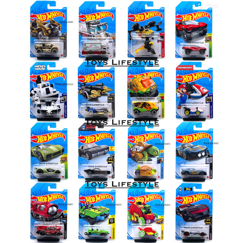 Foto Produk Hotwheels Diecast Fantasy Car - 5 Pcs dari Toys Lifestyle