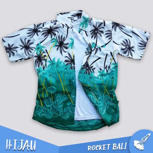 Foto Produk Kemeja Pantai Terlaris - Kemeja Pantai Wanita - Kemeja Pantai Cewek - Hijau, M dari Rocket Bali