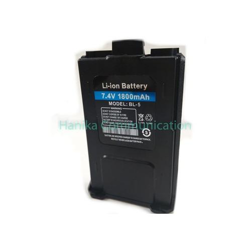 Foto Produk Baterai HT UV5R Baofeng Verxion Lupax UV5RA UV5RE UV-5R BL5 Batre dari Hanika Communication