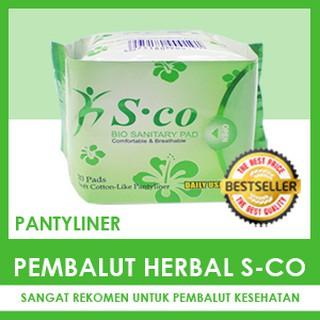 Foto Produk Pembalut Herbal SCO Pantyliner Bukan Avail/Hibis/Natesh/IN3 dari Pancoran Herbal Store