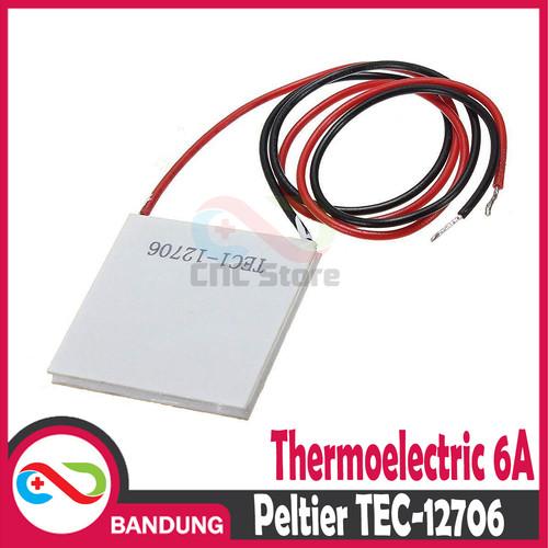 Foto Produk [CNC] PELTIER TEC-12706 TEC1 12706 THERMOELECTRIC DC 12V 6A dari CNC STORE BANDUNG