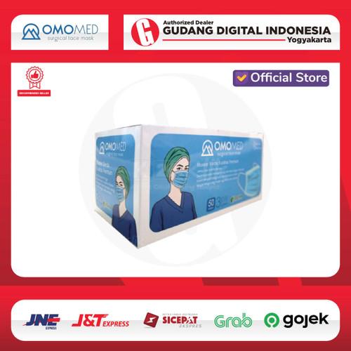 Foto Produk MASKER OMOMED SURGICAL MASK 3FLY 50 PCS dari Gudang Digital Official