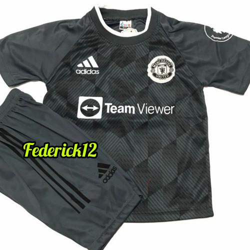 Foto Produk Stelan baju bola anak man.united home jersey terbaru - MU ABU, 4 dari Federick12