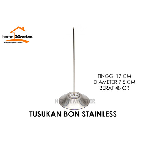 Foto Produk HomeMaster Tusukan Bill/Memo/Bon/Nota Stainless TSBON dari HomeMasterID