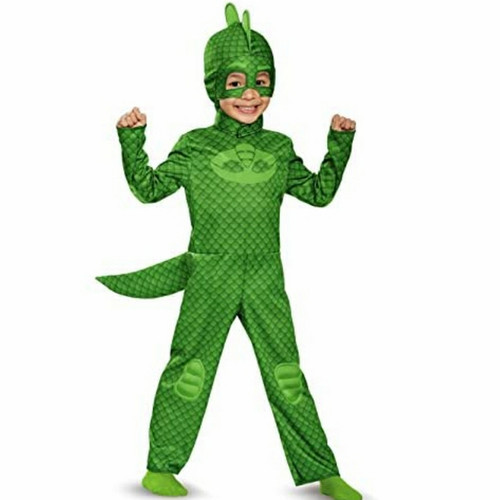 Foto Produk PJ MASK COSTUME Catboy gekko owlette kostum halloween heroes pj mask 2 - M, Hijau dari Baby Angeline Shop
