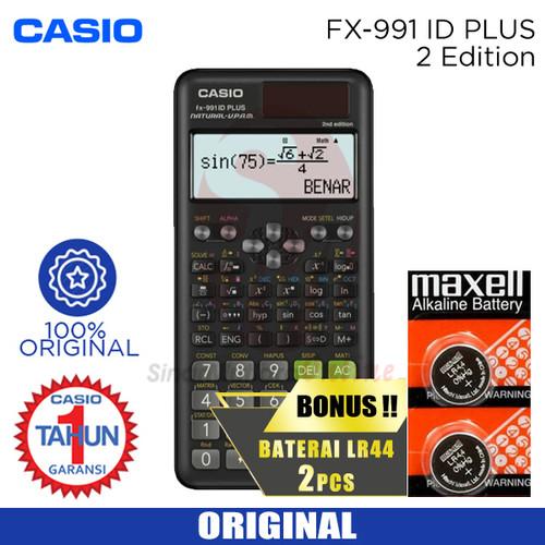 Foto Produk Kalkulator Casio FX 991 iD Plus dari Sinarmutiara Online