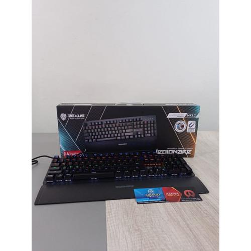 Foto Produk Keyboard Rexus GAMING MECHANICAL MX3.2 RED SWITCH dari ArinGoComputer