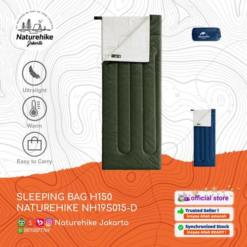 Foto Produk NATUREHIKE SLEEPING BAG H150 NH19S015-D POLYESTER KANTONG TIDUR - STANDARD, Biru dari Naturehike Jakarta
