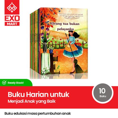 Foto Produk Buku Harian untuk Menjadi Anak yang Baik ( 1 set 10 buku ) dari EXO_Mart