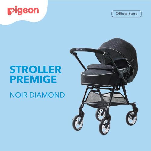 Foto Produk PIGEON Stroller Premige Noir Diamond | Stroller bayi | Kereta Dorong dari Pigeon Indonesia