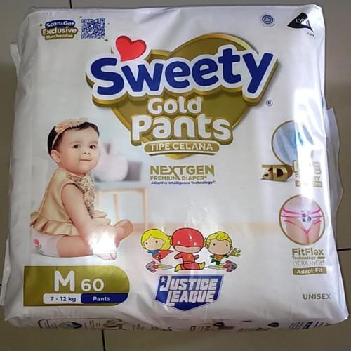 Foto Produk Sweety Gold Pants - M60 dari ladybugtokped