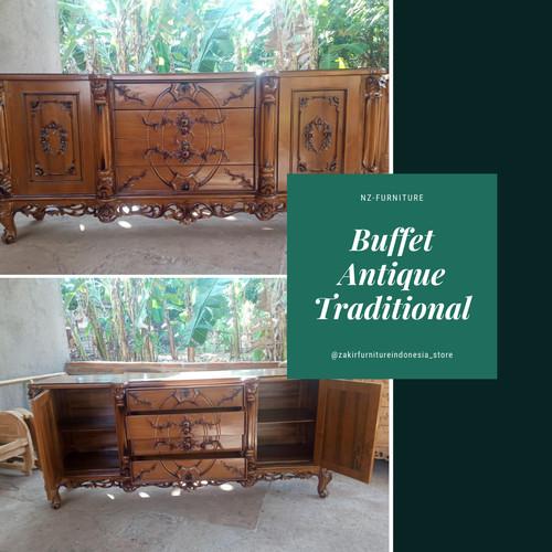Foto Produk Buffet Antik Tradisional dari jepara punya furniture