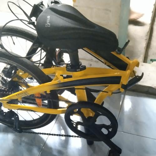 Foto Produk Sepeda Lipat ECOSMO Z9 second (baru skitar 2 bln) dari Double-R