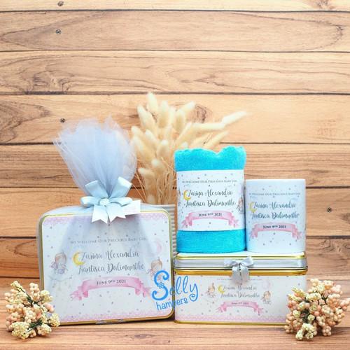Foto Produk Souvenir baby one month / souvenir ulang tahun / hampers / manyue dari Selly Hampers