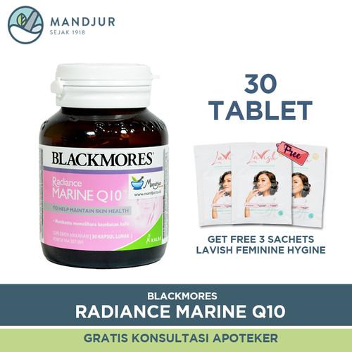 Foto Produk Blackmores Radiance Marine Q10 - Asupan Nutrisi Kesehatan Kulit dari mandjur