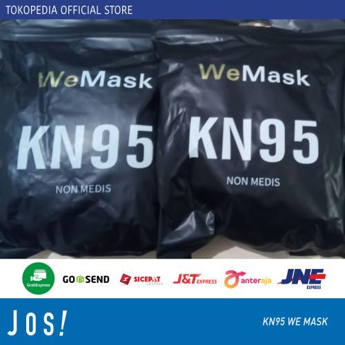 Foto Produk MASKER KN95 PROTECTIVE MASK - KN95 5Ply Black dari J O S