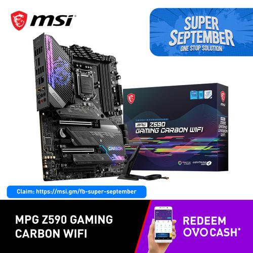 Foto Produk MSI MPG Z590 GAMING CARBON WIFI [ATX   LGA 1200   Gen 11] dari MSI Shop ID