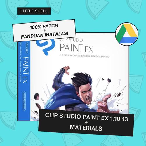 Foto Produk Clip Studio Paint EX + Bonus Software Full Version Terbaru [USB 16GB] - Drive Link dari Little Shell