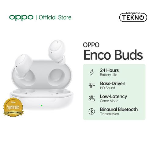 Foto Produk OPPO Enco Buds W12 (Garansi Resmi) - Putih dari OPPO OFFICIAL STORE