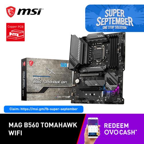 Foto Produk MSI B560 TOMAHAWK WIFI [ATX   LGA 1200   Gen 11] dari MSI Shop ID
