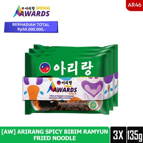 Foto Produk [AW] ARIRANG SPICY BIBIM RAMYUN FRIED NOODLE 135g (AR46) dari Arirang Official Store