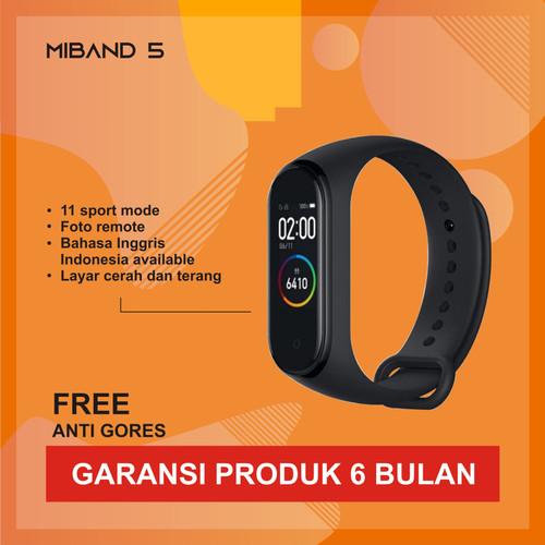 Foto Produk Xiaomi Mi Band 5 AMOLED Miband 5 Smartwatch ORIGINAL - CHINA Version - MIBAND5CN dari Kardel Shop