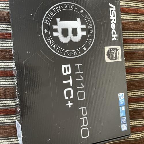 Foto Produk motherboard asrock h110 pro btc+ dari AEG Studio