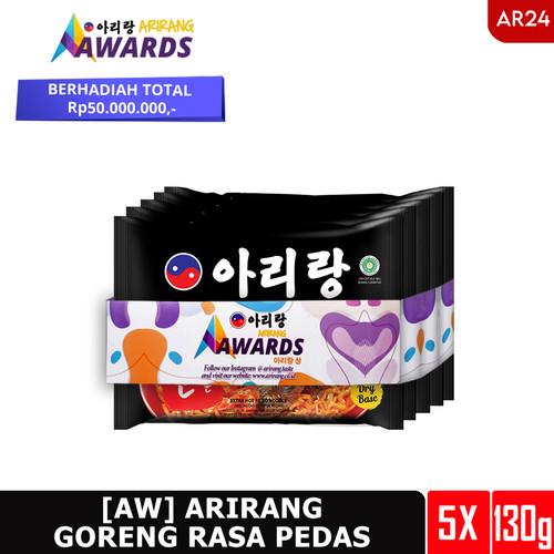 Foto Produk [AW] ARIRANG GORENG RASA PEDAS 130g 5 pcs (AR24) dari Arirang Official Store