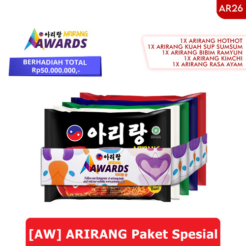 Foto Produk [AW] ARIRANG Paket Spesial (AR26) dari Arirang Official Store