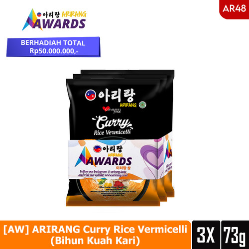 Foto Produk [AW] ARIRANG Curry Rice Vermicelli (Bihun Kuah Kari) 73g (AR48) dari Arirang Official Store