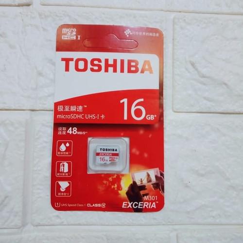 Foto Produk Memory Card Toshiba 16GB MMC 16 GB/ Micro sd dari Raja Aksesoris Grosir