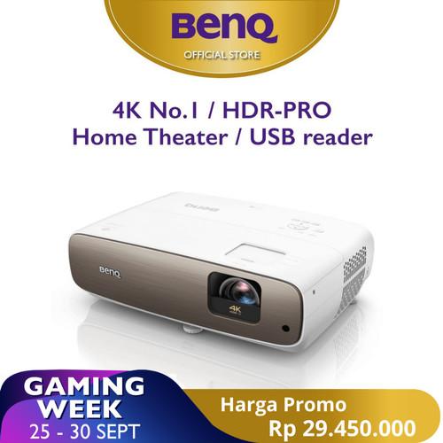 Foto Produk Proyektor BenQ W2700 True 4K HDR Short Throw DLP UHD Home Projector dari BenQ Official Store